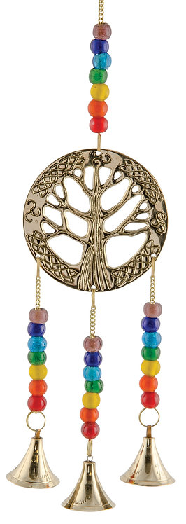 Hanging Tree of Life with Chakra Beads & Bells
