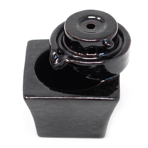Back Flow Incense Burner - Round to Square