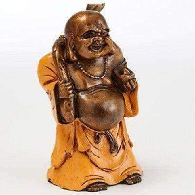 Handcrafted Chinese Laughing Buddha Of Safe Travel