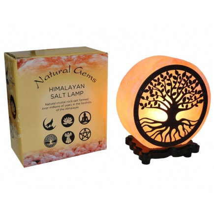 Tree of Life Design Salt Lamp