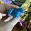 Thumbnail: Blue Howlite Carved Angel