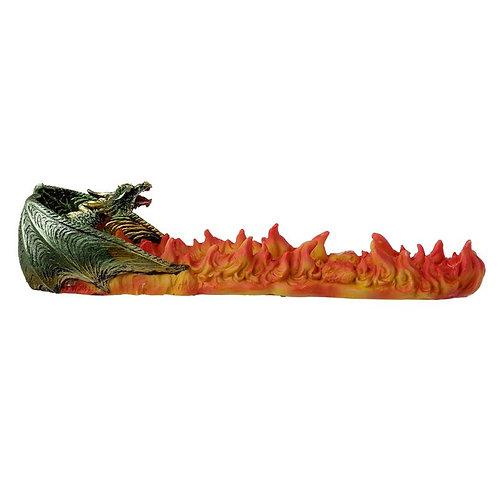 Green Dragon Volcano Incense Stick Holder