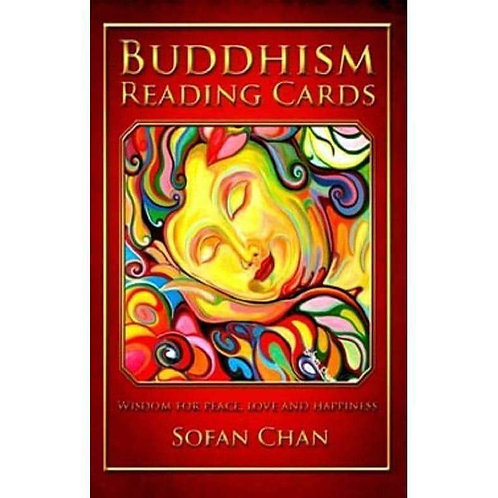 BUDDHISM READING CARDS Wisdom for Peace, Love and Happiness