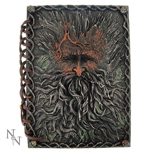 Tree Beard Notebook Green Man Tree Spirit Journal 19cm