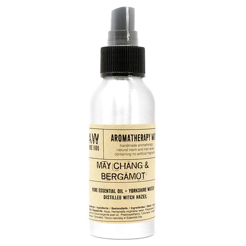100ml Essential Oil Mist - May Chang & Bergamot