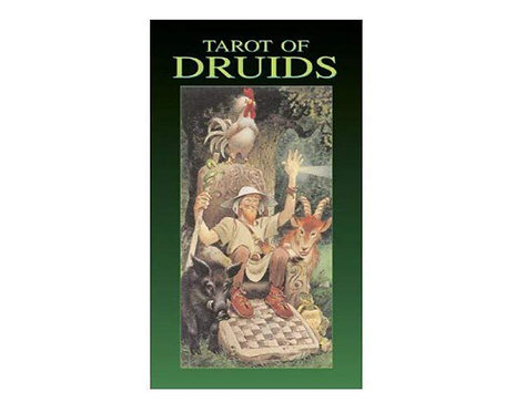 Tarot of Druids Deck - Lo Scarabeo: 78 Cards + Instructions