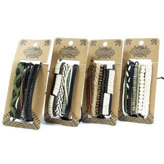 Men's Bracelet Set - Natural