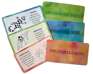 ENCHANTED SOUL AFFIRMATION CARDS, author Nick Bibes