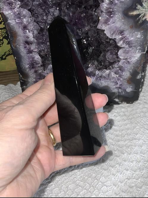 Black Obsidian Obelisk