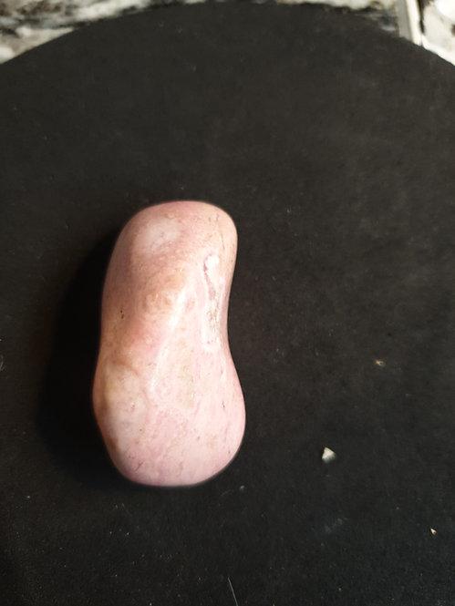 Rhodochrosite Polished Pebble 40mm x 25mm