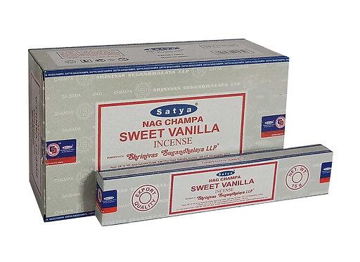 Satya Sweet Vanilla Incense Sticks