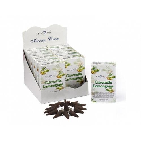 Stamford Citronella Lemongrass Incense Cones