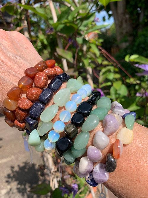 Polished crystal Bracelet (various)