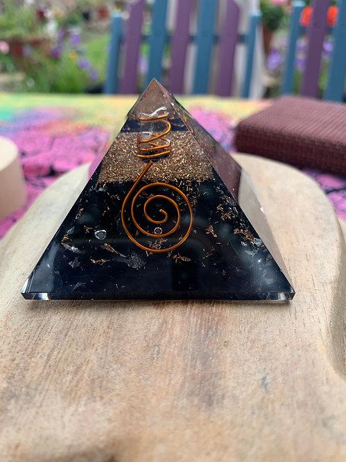 Shungite Orgone Pyramid