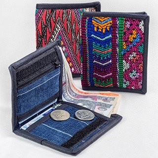 Guatemalan embroidered Wallet