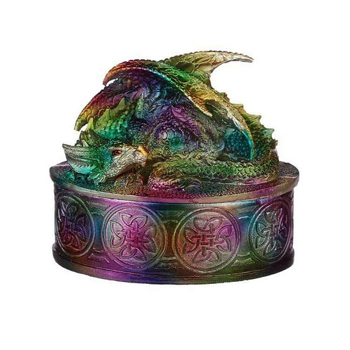 A Fun & Unique Dragon Trinket Box