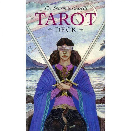 The Sharman-Caselli Tarot Cards by Juliet Sharman-Burke Free Delivery
