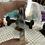 Thumbnail: Purple Banded Fluorite Slice