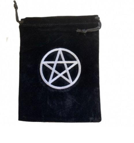 Pentagram Tarot Bag 15cm X 20cm
