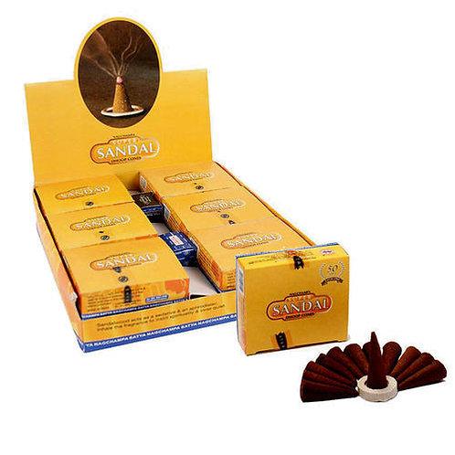 Satya Nag Champa Sandal Incense Cones