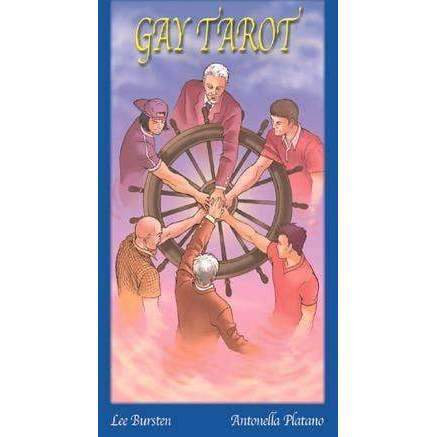 "Gay Tarot. ""For Those Who Are Not Afraid Of Diversity."""