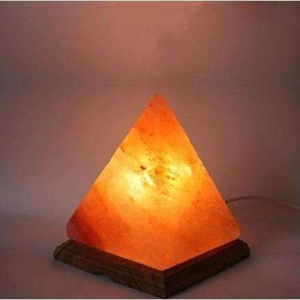 Pyramid Shape Handcrafted Salt Lamps. Choice Of Size