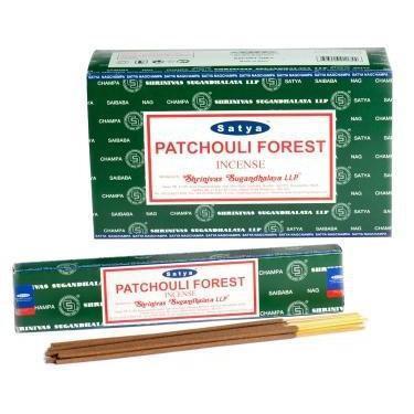 Satya Patchouli Forest Incense Sticks