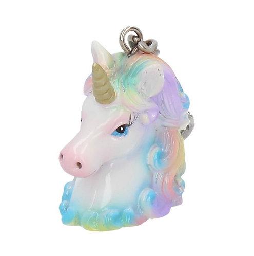 Unicorn Wild Keyring 5cm