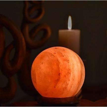 Himilayan Salt Sphere Lamp