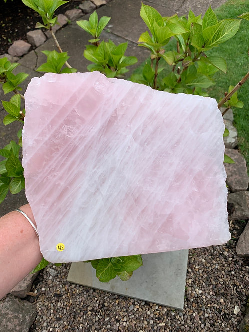 Large Rose Quartz Slab