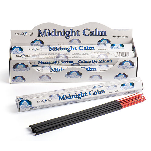 Stamford Midnight Calm Hex Incense Sticks