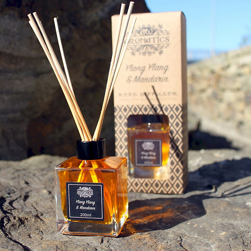 Pure Essential Oils Reed Diffusers - 200ml: Truly Aromatic Fragrances