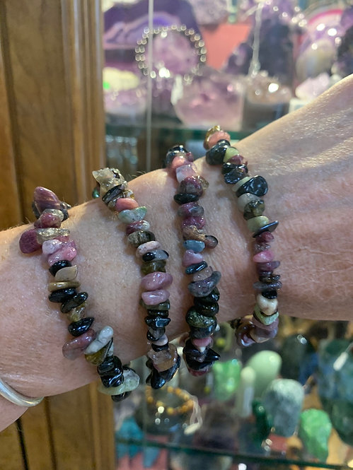 Mixed Tourmaline bracelet