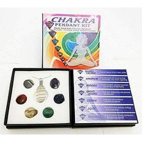 Enchanting Chakra Pendant Kit With Gift Box: Change Your Pendant Daily