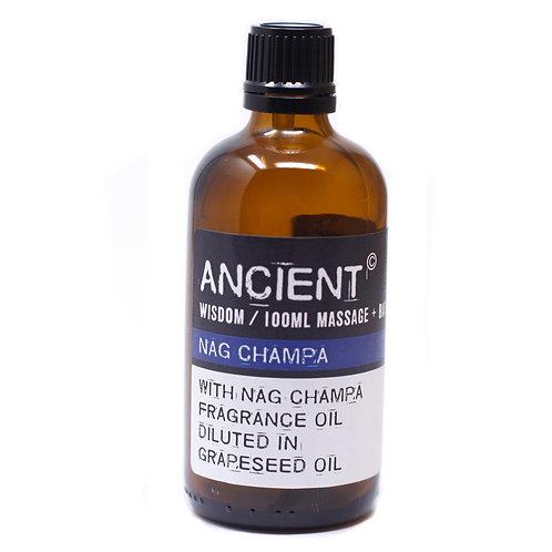 Nag Champa Massage Oil - 100ml