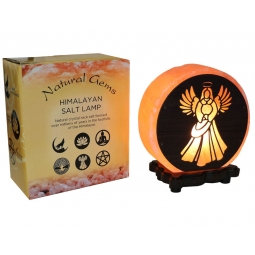 Angel Design Salt Lamp