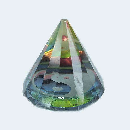 12 sided YinYang  Pyramid 50 mm