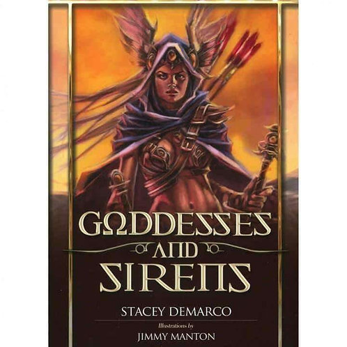 Goddesses & Sirens (Oracle Cards) by Stacey Demarco: Free Delivery