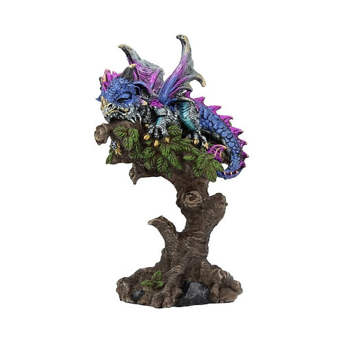 Tree Top Dreams Sleeping Dragon 14.5cm