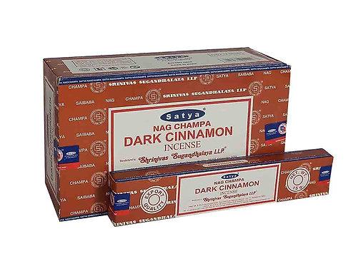Satya Dark Cinnamon Sticks