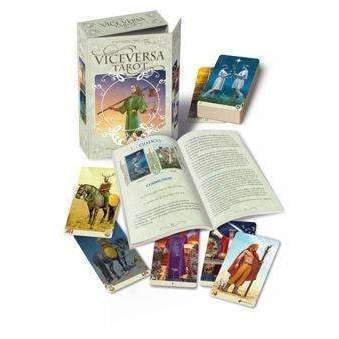 VICE-VERSA TAROT Book and Cards Set: artwork on both sides