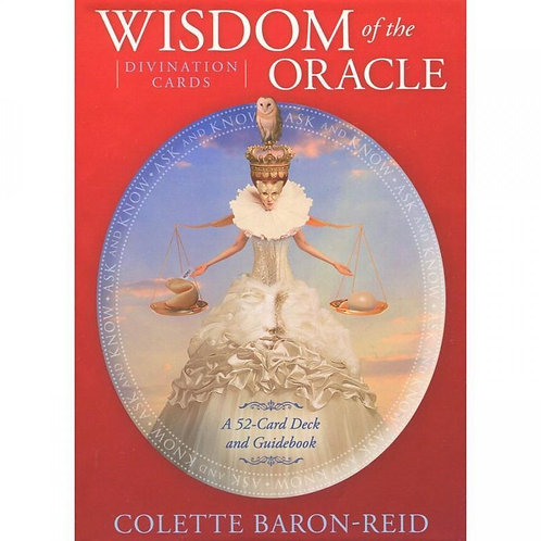 Wisdom of the Oracle Divination Cards & Guidebook