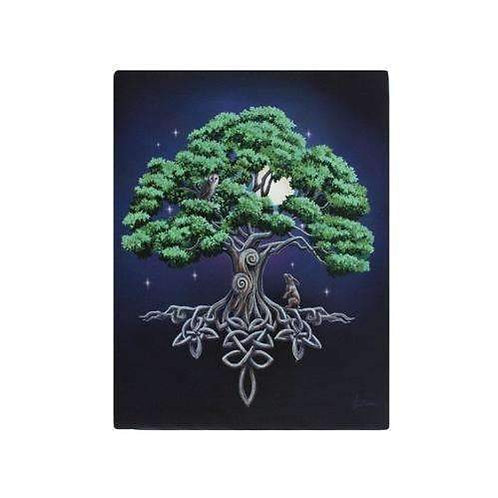 Tree of Life Canvas Print by Licensed Artist Lisa Parker