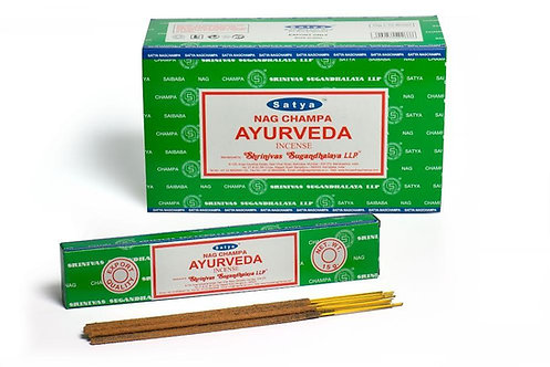 Satya Ayurveda Incense Sticks