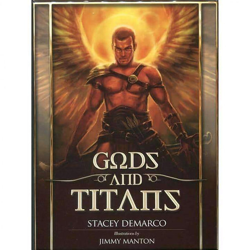 Gods & Titans (Oracle Cards) by Stacey Demarco: Free Delivery