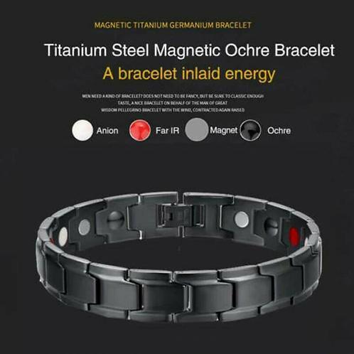 Therapeutic Energy racelet Titanium Steel Magnetic Bracelet