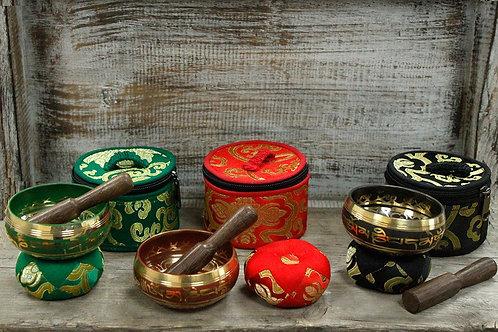 Hand Made Singing Bowl Sets 7cm x 4cm