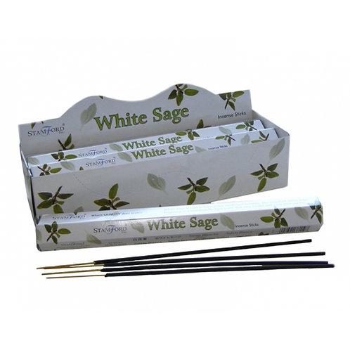 Stamford White Sage Hex Incense Sticks