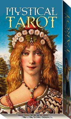 MYSTICAL TAROT: 78 full colour cards and instruction booklet.