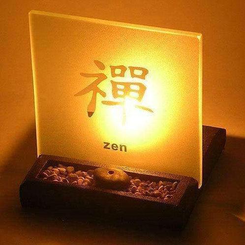 Zen Garden T-Light Holder With Enlightened Display